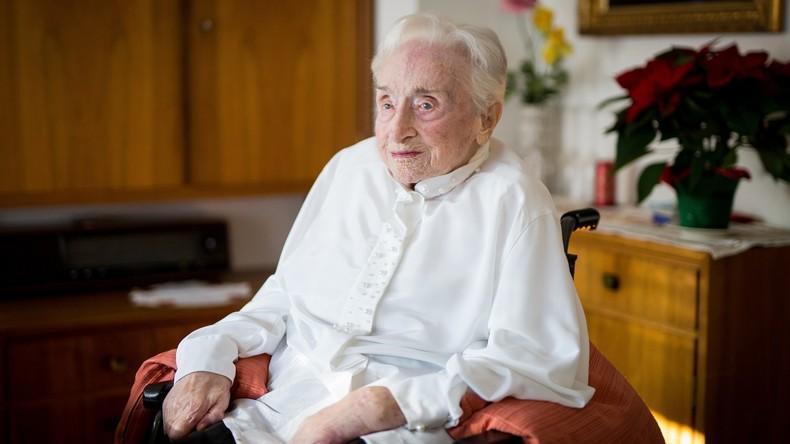 Älteste Frau Deutschlands gestorben: Edelgard Huber wurde 112 Jahre alt