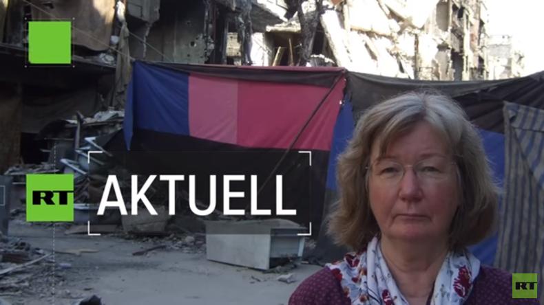 Exklusiv: Karin Leukefeld aus Syrien über möglicherweise bevorstehenden US-Angriff (Video)