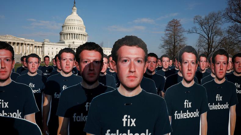 Video: Zuckerbergs erste Kongressanhörung zum Skandal von Cambridge Analytica