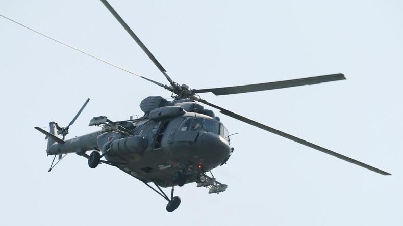 Hubschrauberabsturz im russischen Fernen Osten - alle sechs Insassen tot