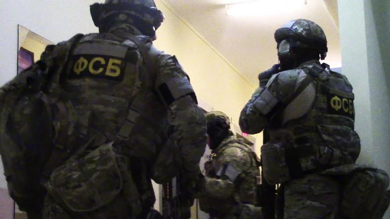 FSB-Chef: Russische Dienste konnten im Jahr 2018 sechs Terroranschläge vereiteln