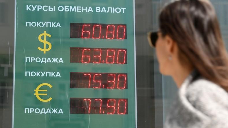 Russlands Zentralbank: US-Sanktionen stellen keine Gefahr für finanzielle Stabilität Russlands dar