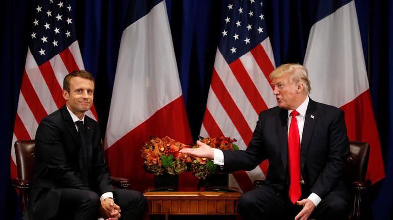 Macron erwägt Angriff auf vermeintliche Chemiewaffen-Einrichtungen in Syrien