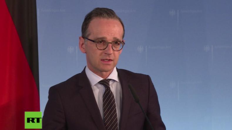 Maas: Unhaltbarer Zustand, dass niemand wegen Giftgasangriffs zur Rechenschaft gezogen wird