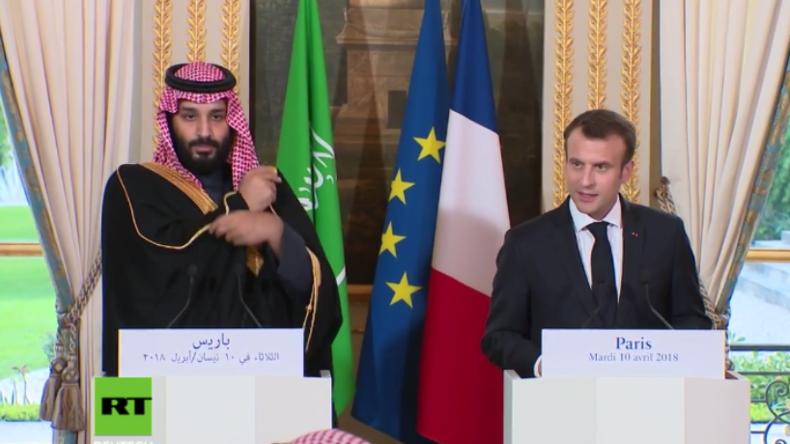 In Absprache mit den USA: Macron sieht Möglichkeit für Angriffe auf syrische Chemiewaffenstätten