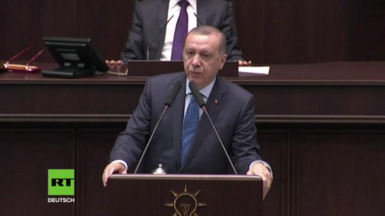 """Erdogan: """"Verantwortliche für Giftgasangriff in Syrien werden hohen Preis bezahlen"""""""