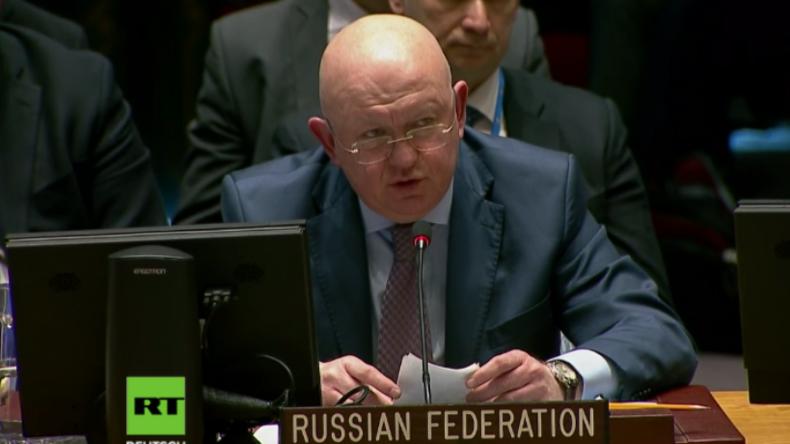 Russland an USA, England und Frankreich: Schwelle des Akzeptablen ist überschritten