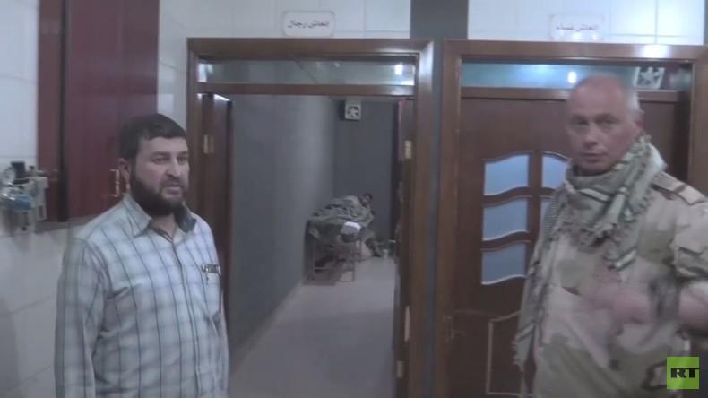 ABC-Waffenexperten besuchten Duma: Keine Patienten mit Symptomen von Chlor- oder Sarinvergiftung