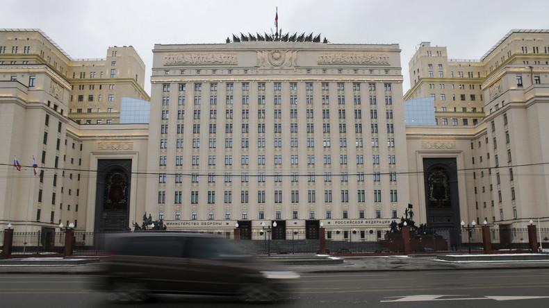 LIVE: Russisches Verteidigungsministerium gibt Pressekonferenz zur Lage in Syrien