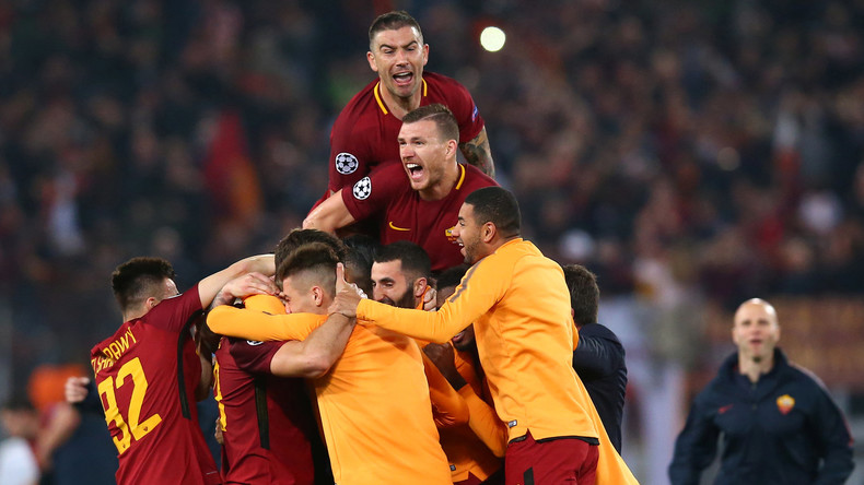 Präsident von FC Roma badet nach Sensationssieg in einem römischen Brunnen – und zahlt