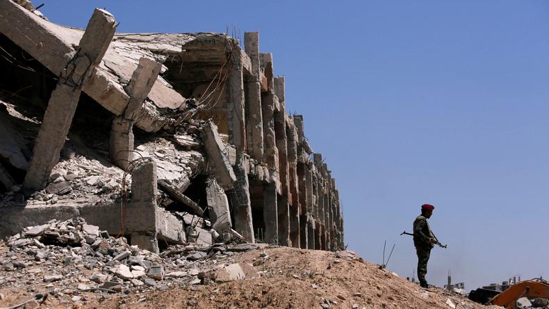 Bus mit russischen Journalisten in Syrien beschossen: Drei Verletzte