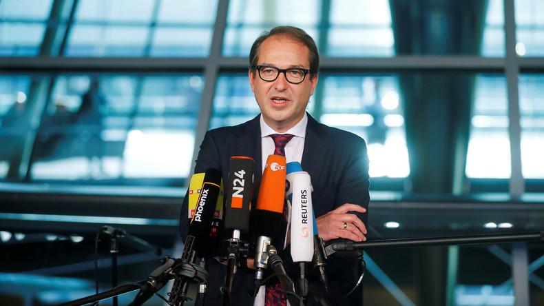 """Dobrindt heizt Debatte weiter an: """"Islam soll für Deutschland kulturell nicht prägend werden"""""""