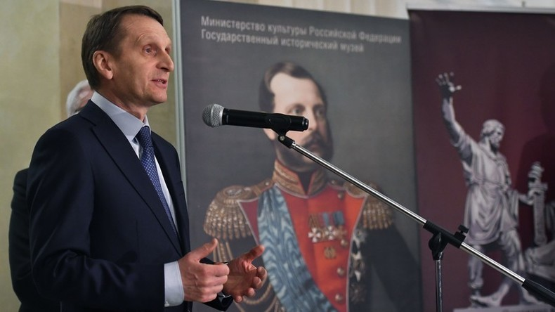 Russlands Auslandsgeheimdienstchef: Diplomatische Ausgrenzung hilft Terroristen