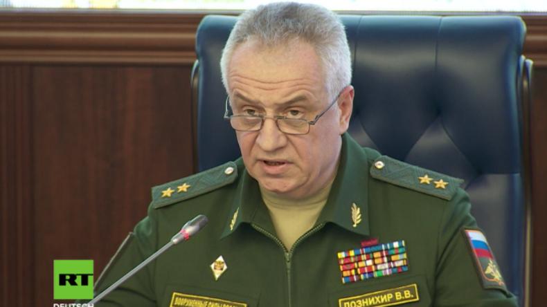 """Russland: Wir warnten im Vorfeld vor einer Provokation - wie dieser der """"abscheulichen Weißhelme"""""""