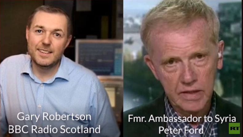 """Britischer Botschafter a.D. bei BBC zu Giftgasvorwürfen: """"Bitte schalten Sie doch Ihr Gehirn ein"""""""