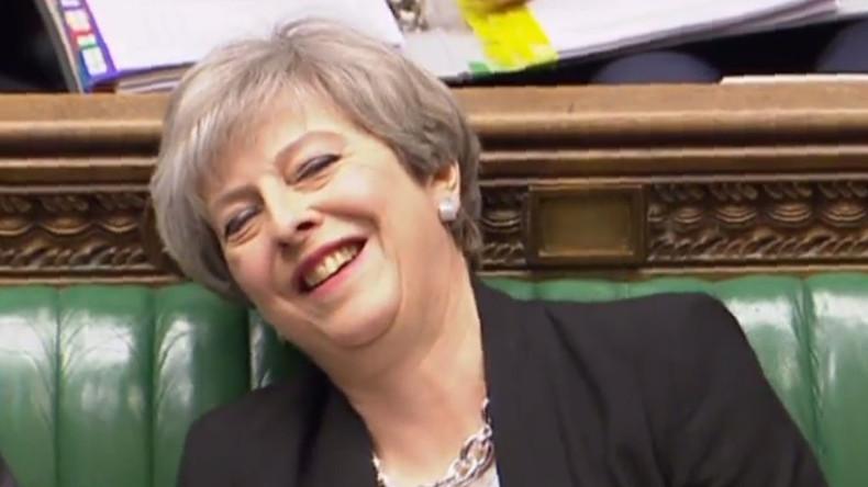 """Konservative Zensur: Brite bekommt Brief von Theresa May mit Anrede """"Herr Siewollenmichverarschen"""""""