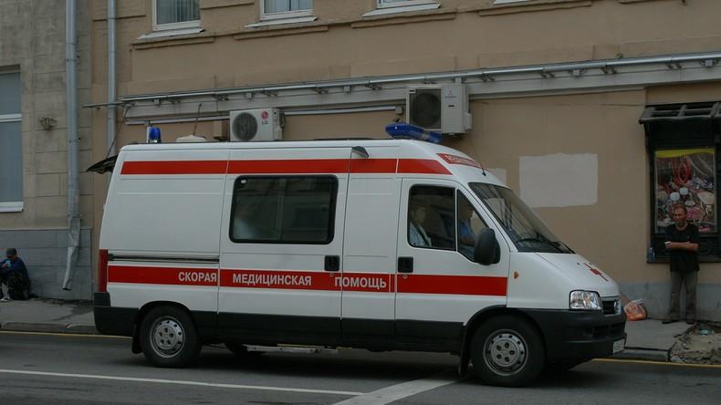 Südrussland: Bus mit Bauarbeitern stürzt ins Meer - 13 Tote