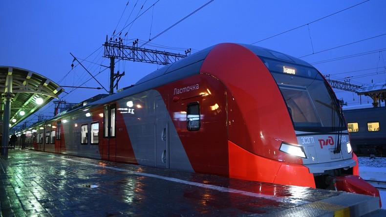 Russische Bahn bereit, Merkels Traum zur Verwirklichung zu verhelfen