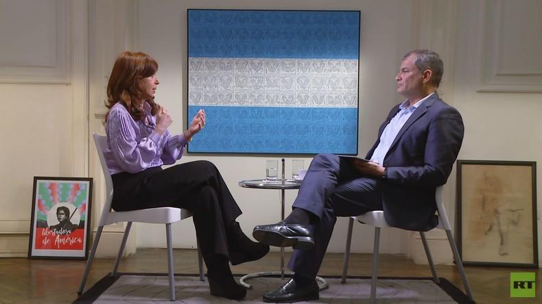 """Argentiniens Ex-Präsidentin Cristina Fernández de Kirchner: """"Der Neoliberalismus wird scheitern"""""""