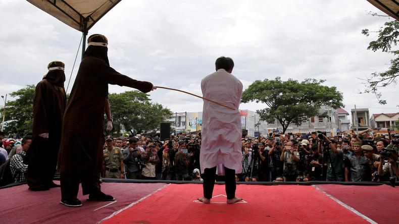 Reaktion auf internationale Kritik: Indonesische Provinz verbietet öffentliche Stockhiebe