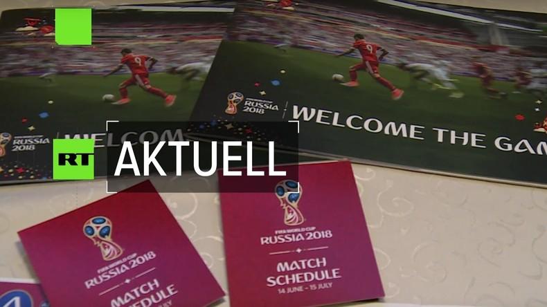 Der Countdown läuft: Noch 63 Tage bis zur Fußball-WM (Video)