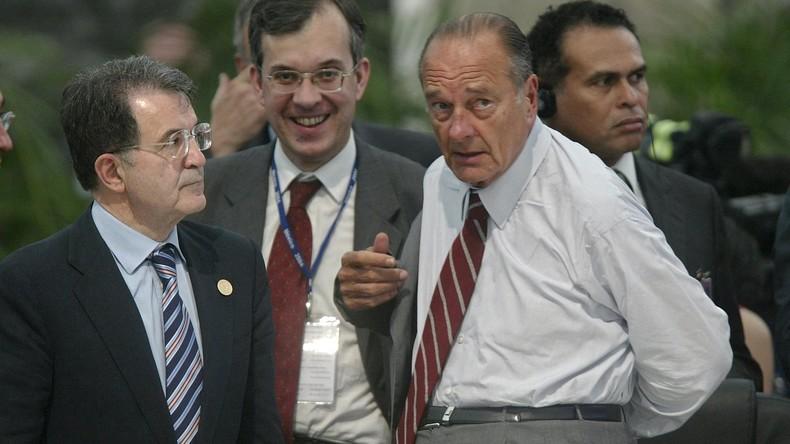 Zieh dich an wie ein Präsident: Jacques Chiracs Tochter spendet dessen Kleidung an Flüchtlinge