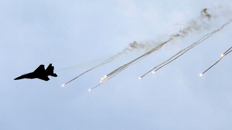 Israelische Luftwaffe hält Testflüge über Tel Aviv ab und verschreckt Stadtbewohner