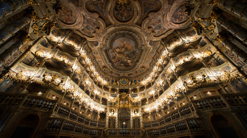 UNESCO-Weltkulturerbe: Markgräfliches Opernhaus in Bayreuth wiedereröffnet