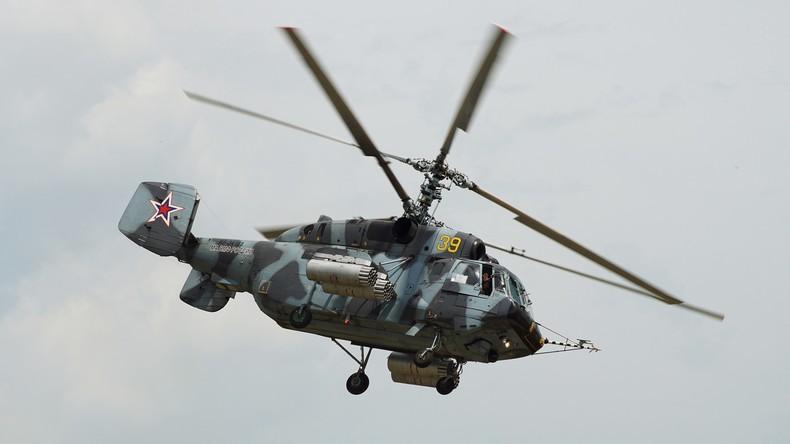 Russischer Transporthubschrauber Ka-29 in Ostsee abgestürzt – zwei Piloten tot