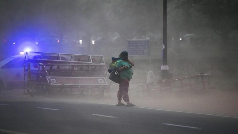 Orkan in Indien fordert mindestens 40 Menschenleben