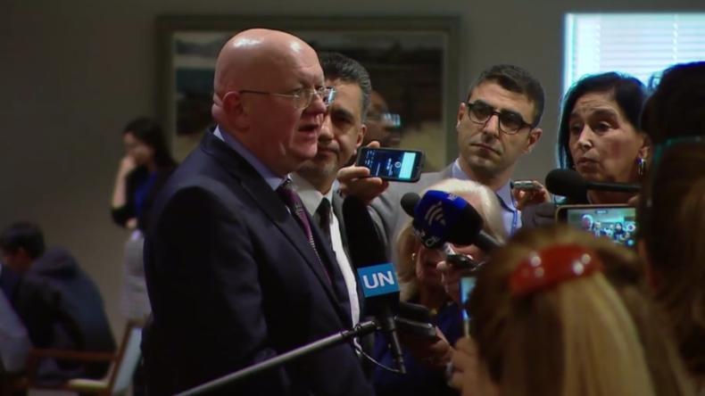 Russland: Hoffentlich verzichten USA auf Angriffe, damit es nicht zum Punkt ohne Wiederkehr kommt