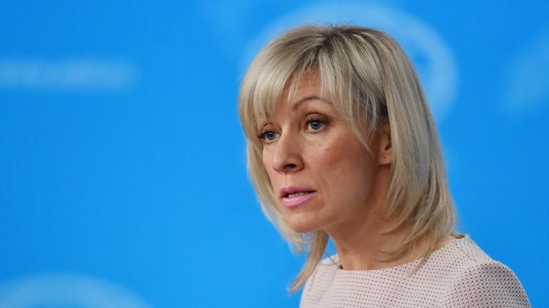 Russlands Außenamtssprecherin verurteilt Angriff auf Damaskus