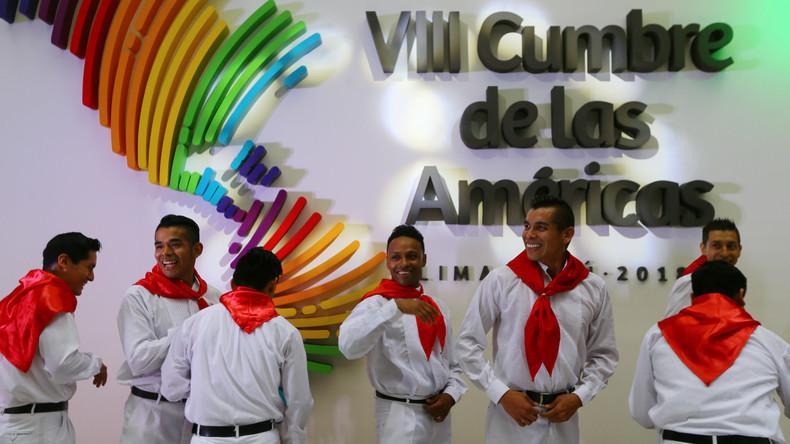 Amerika-Gipfel in Peru: Venezuelas Staatschef Nicolás Maduro darf nicht dabei sein