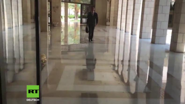 Syrien veröffentlicht Aufnahmen von Präsident Assad nach US-geführten Angriffen auf Damaskus