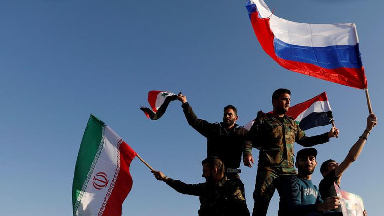 Live-Updates: USA, Frankreich und Großbritannien greifen Syrien an