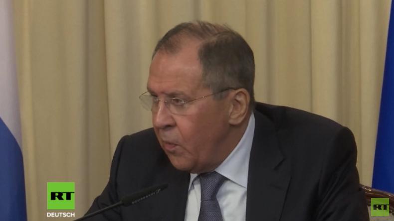 LIVE: Russischer Außenminister Lawrow auf Sitzung des Rats für Außen- und Verteidigungspolitik