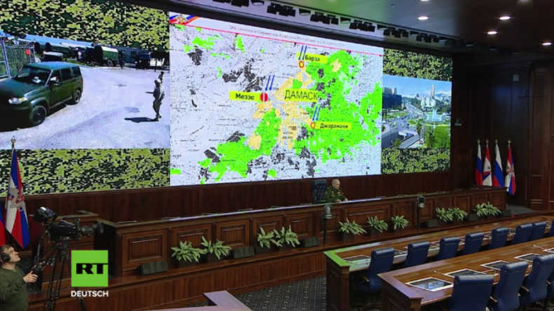"""Russland: Bei den angegriffenen """"angeblichen Chemiewaffenanlagen"""" handelte es sich um leere Gebäude"""