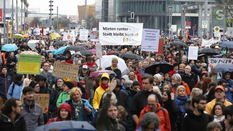 """RT Deutsch auf Großdemo gegen """"Mietenwahnsinn"""" in Berlin"""