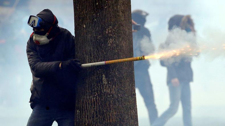 Zusammenstöße und Festnahmen bei Demonstrationen in Frankreich