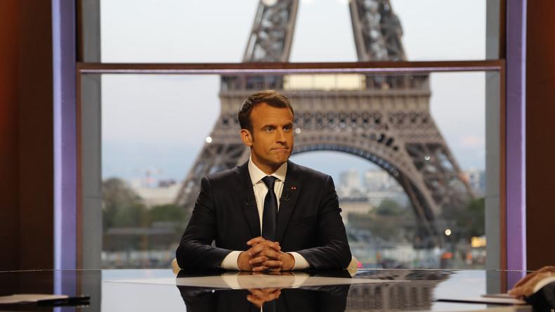 Nach Raketen auf Syrien: Macron will Verhandlungen mit Moskau und Ankara