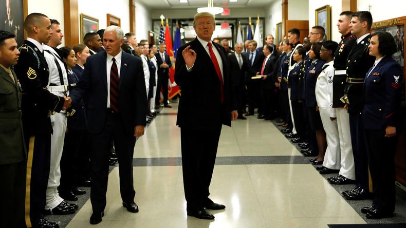 Angriff auf Syrien: Pentagon legte Trump Angriffspläne gegen russische Militärpositionen vor