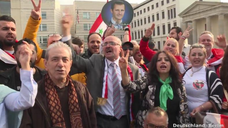 Nach völkerrechtswidrigem Angriff in Syrien: Proteste in aller Welt gegen USA und Partner