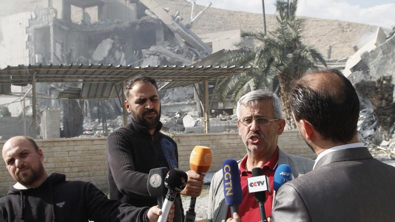 Angebliche syrische Chemiewaffenfabrik: OPCW und Mitarbeiter widersprechen US-Angaben