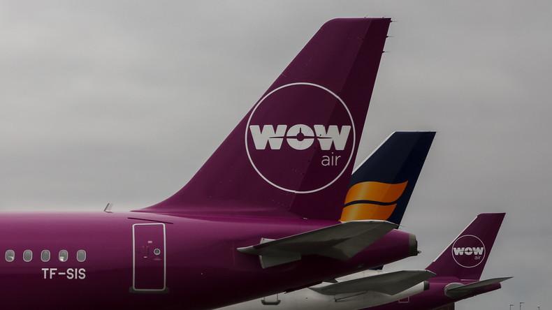 Isländischer Billigflieger Wow Air kündigt kostenlose Flugtickets an