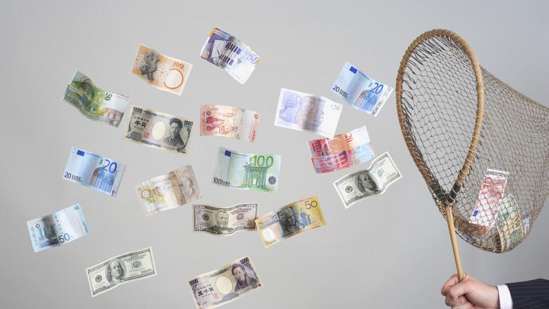 Großbritannien: Räuber verliert gestohlenes Bargeld durch Windstoß