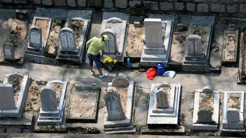 Nur der Tod ist gewiss: Über 80.000 Gräber für Lebende in China reserviert
