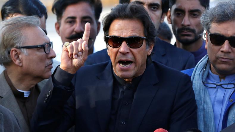 """Exklusiv-Interview mit Pakistans Imran Khan über USA: """"Kämpfe niemals den Krieg eines anderen"""""""