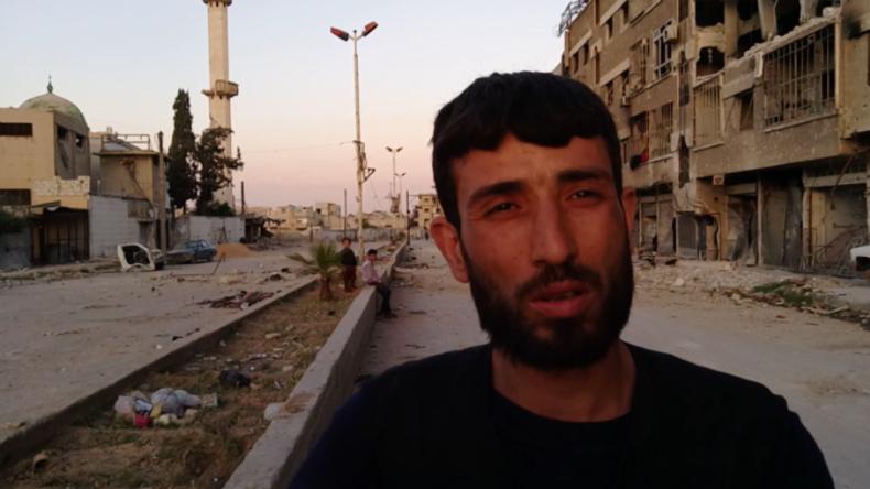 """Einwohner Dumas über Islamisten: """"Während wir hungerten, war in ihren Lagern Essen für 30 Jahre"""""""