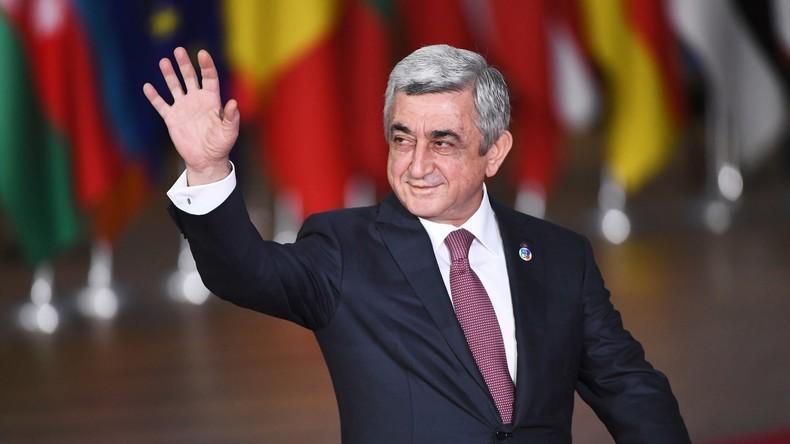 Wahl von Armeniens Ex-Staatschef Sarkissjan zum Ministerpräsidenten erwartet