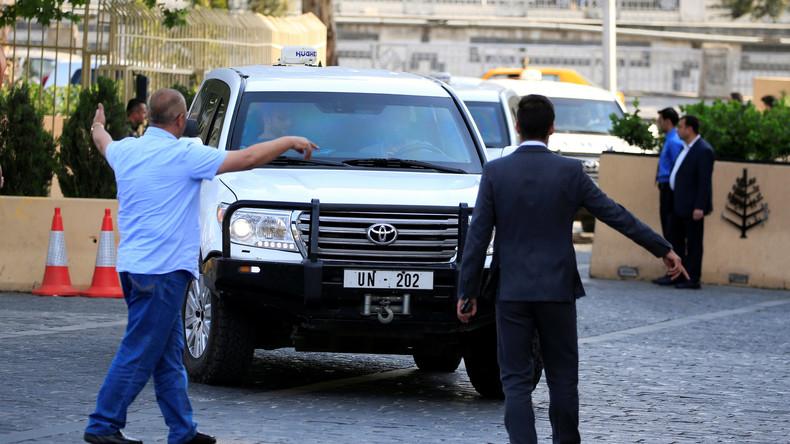 Entgegen westlicher Medienberichte: OPCW-Chemiewaffenexperten im syrischen Duma angekommen
